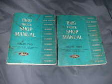 New Listing1969 Ford Truck Shop Manuals - Volumes Two & Three