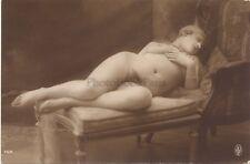 Jean Agélou Femme nue allongée Artistique Paris Vintage argentique ca 1910