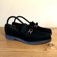 Stuart Weitzman For Russell & Bromley Suede Leather Loafers Flat Shoes 6.5/39.5