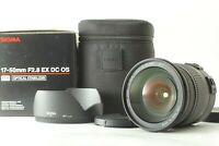 【TOP MINT】 SIGMA ZOOM 17-50mm f/2.8 EX DC OS HSM Lens for Canon from JAPAN #1512