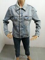 Giubbino ENERGIE donna taglia size L woman jacket cappotto jeans P 6048