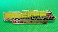 Vintage 1970s Flying Scotsman 4472 Steam Train Locomotive Metal Enamel Badge
