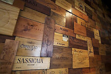 20 Assorted WINE CRATE PANELS  Wine Box Sides /End Tops / Wood Various Sizes