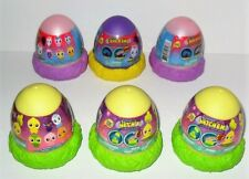 MASHEMS CRACK'EMS & HATCH'EMS SERIES 1 UNICORN & BABY CHICKENS EGG LOT OF (6)