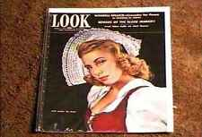 LOOK MAGAZINE 1943 MARCH 9 FINE+ FILE COPY DUTCH FASHION OUTFIT BLACK MARKET