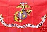 Marine RV NASCAR Toy Box Trailer Home Flag #R-0022