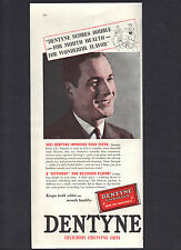 1936 Dentyne Chewing Gum Ad,Score Double-For Mouth Health-For Wonderful Flavor