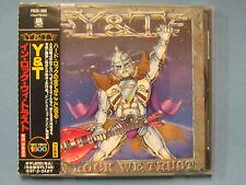 Le Japon Press y&t - dans Rock We Trust Japon CD pocm - 1986 OBI