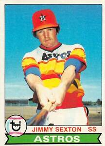trading card Topps ASTROS 1979 JIMMY SEXTON  #232