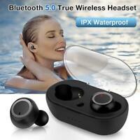 True Wireless TWS Earbuds Bluetooth 5.0 Touch Control Hi-Fi Stereo Bass Sound Mi