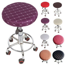 1/2/4/6 Bar Stool Cover Round Chair Slipcover Cafe Beauty Salon Seat Cover Cloth