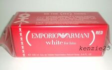 EMPORIO ARMANI WHITE FOR HIM 3.4 OZ MEN PERFUME EDT SPRAY 100 ML NIB RED