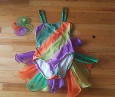 ART STONE Girl's Dance Costume Solo Competition Multi-color tropical Dress SC