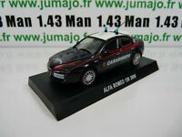 CR15H voiture 1/43 CARABINIERI : ALFA ROMEO 159 2006