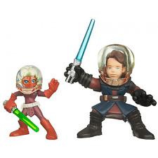 Star wars héros galactiques Ahsoka & anakin skywalker action figures