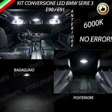 KIT FULL LED INTERNI BMW SERIE 3 E90 / E91 ANTERIORE + POSTERIORE + BAGAGLIAIO