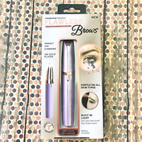 Finishing Touch Flawless Brows Purple Pain Free Hair Remover 18 K Gold Plated