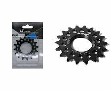 Piñon Fijo de Bicicleta Fixie Ruder Berna 16T Aluminio Negro Mecanizado CNC 3609