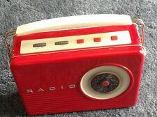 retro radio storage tin