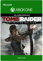 TOMB RAIDER DEFINITIVE EDITION XBOX ONE FULL GAME DIGITAL DOWNLOAD KEY