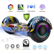 "Ul2272 Certified 6.5"" Hoverboard Led Lighted Wheel Self Balance Electric Scooter"