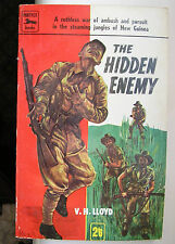 THE HIDDEN ENEMY VH LLOYD 1958 FIRST PANTHER PAPERBACK 830 EXCELLENT
