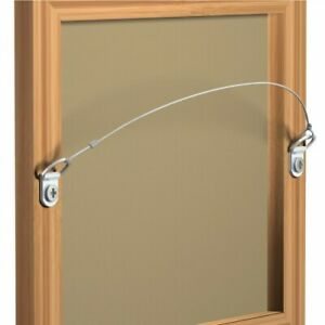 10 pcs Small Chrome Picture Mirror Frame D-Ring Hanger Hanging Hanger Frame Hook