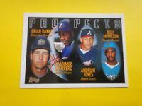 1996 Topps - Vladimir Guerrero - Andruw Jones - #435 - Expos - Rookie - MINT