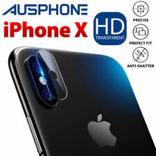 2x iPhone X Camera Lens Tempered Glass Screen Protector 9h HD Thin for Apple 10