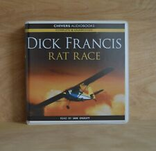 DICK FRANCIS: Rat Race / Unabridged Audiobook /  6CDs