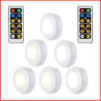 1/3/6pc Wireless Remote Control LED SMD Lights Battery Operated Under Cabinet UK
