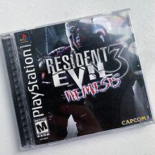 Resident Evil 3: Nemesis PS1 PSX PlayStation 1 Jill Valentine