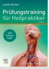 Prüfungstraining für Heilpraktiker Isolde Richter Taschenbuch Deutsch 2020