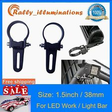 "2PCS 1.5"" Mounting Bracket Clamps Holder For LED Light Tude Bull Bar/Roll Cage"