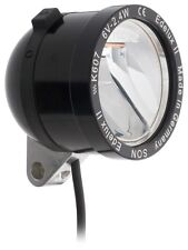 Novelty LED Headlight Son edelux II Black with 60 CM CABEL Ready to Connect