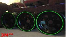 3M™ Reflektierende Felgenrandaufkleber Motorrad & Auto 7mm x 6 mt stripe