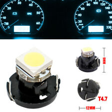 1 x T4.7 Neo Wedge Ice Blue Car Instrument Cluster Panel Lamps Gauge LED Bulb