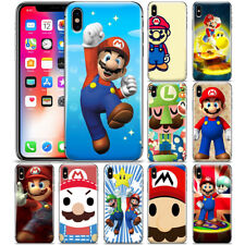 Cartoon Super Mario Brother Pattern Phone Case Cover For iPhone X XR XS MAX