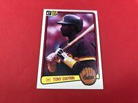 1983 Donruss #598 Tony Gwynn San Diego Padres RC Rookie HOF