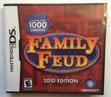 Family Feud 2010 Edition (Nintendo DS, 2009) Brand New Sealed