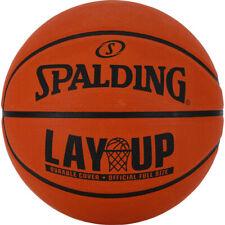 Spalding NBA Layup Outdoor Recreational Rubber Basketball Ball Orange - Size 5