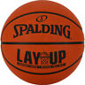Spalding NBA Layup Outdoor Recreational Rubber Basketball Ball Orange - Size 5