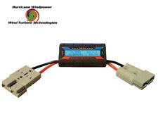 Hurricane DC Inline 150 AMP Watt Meter with Special Heavy Gauge Wire for Wind Generator - Black (150AWM)