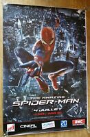 AMAZING SPIDER MAN Marvel sci-fi original LARGE 6x4 ft BUS SHELTER movie poster