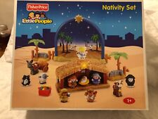 """Fisher Price Little People """"Nativity Set""""   N6010 Factory Sealed 2008 Retired"""