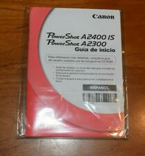 Canon Powershot A2400/A2300 IS Digital Camera User Guide  Manual SPANISH