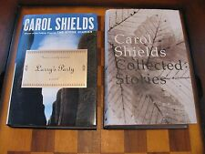 2 Carol Shields-Larry's Party-Collected Stories-Pulitzer-Hardcover-Stone Diaries