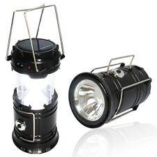 LUZ LINTERNA LAMPARA PORTATIL DE 6 LED RECARGABLE CASA EMERGENCIA CAMPING ASA