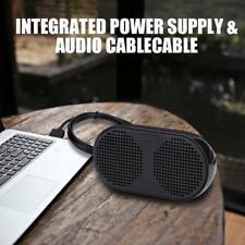 Mini USB Speaker Portable Stereo Loudspeaker Music Sound For Laptop Desktop PC