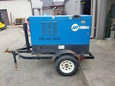 2013 Miller Big Blue 400D Big Blue Towable Welder Generator